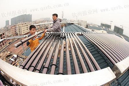 钦州廉租住房安上新万博manbetx官网登录热水器